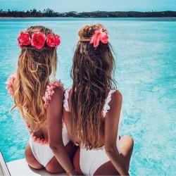 Body Bañador Rosas